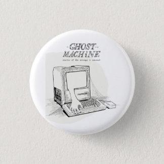 """Bóton Redondo 2.54cm O fantasma em meu """"botão do Mac antigo"""" da máquina"""