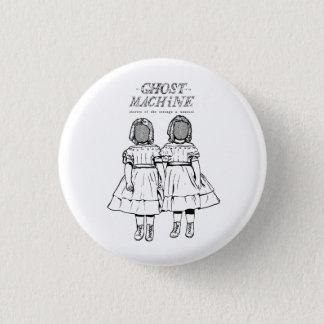 """Bóton Redondo 2.54cm O fantasma em minha máquina """"junta"""" o botão"""