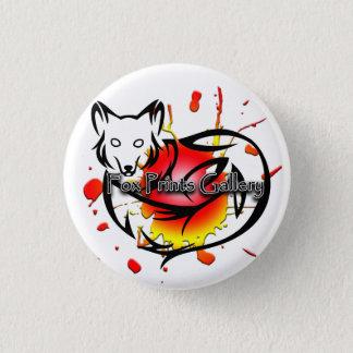 Bóton Redondo 2.54cm O Fox imprime o botão da galeria