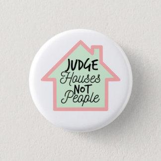 Bóton Redondo 2.54cm O juiz abriga não pessoas do botão