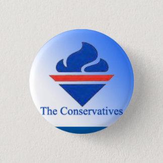 Bóton Redondo 2.54cm O logotipo velho dos conservadores
