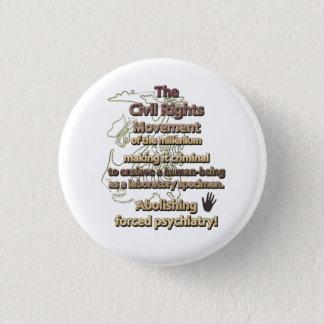 Bóton Redondo 2.54cm O movimento dos direitos civis do milênio