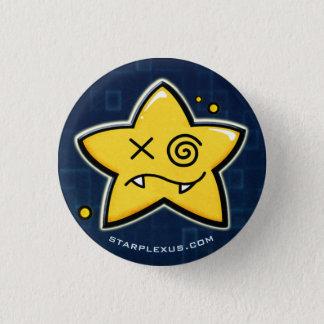 Bóton Redondo 2.54cm o starplexus perplex o botão