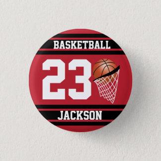 Bóton Redondo 2.54cm Obscuridade personalizada do basquetebol -