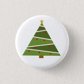 Bóton Redondo 2.54cm Oh botão redondo da árvore de Natal