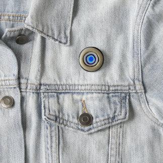 Bóton Redondo 2.54cm Olho mau grego do botão pequeno