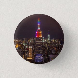 Bóton Redondo 2.54cm Orgulho do Empire State Building
