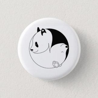 Bóton Redondo 2.54cm Os asiáticos e o botão dos ursos 2017