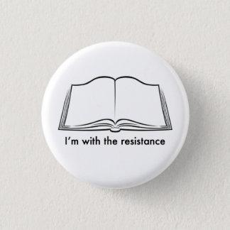 Bóton Redondo 2.54cm Os bibliotecários conduzem a resistência