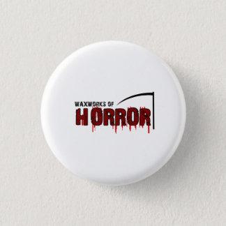 Bóton Redondo 2.54cm Os modelos de cera do horror