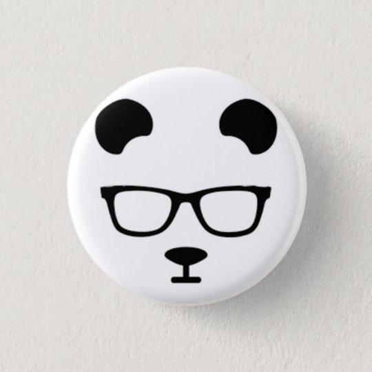 Bóton Redondo 2.54cm Panda geek