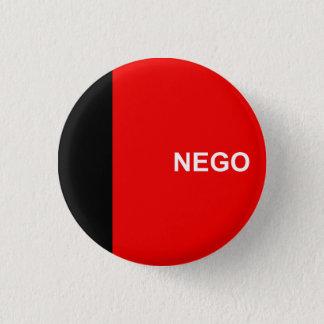 Bóton Redondo 2.54cm Paraíba, botão brasileiro da bandeira do estado