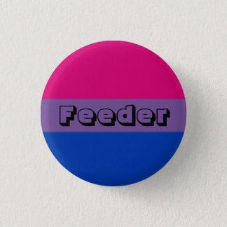 Bóton Redondo 2.54cm Pin bissexual do alimentador