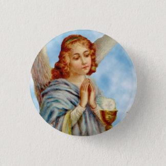 Bóton Redondo 2.54cm Pin da lapela: O anjo Ponders
