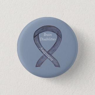 Bóton Redondo 2.54cm Pin do costume da fita da consciência das