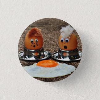 Bóton Redondo 2.54cm Pin engraçado do ovo