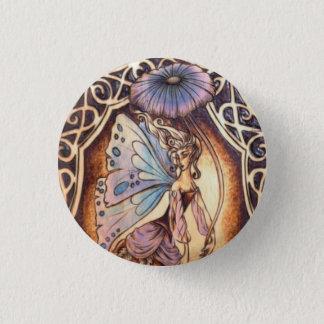 Bóton Redondo 2.54cm Pin feericamente do botão do jardim do Victorian