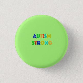 Bóton Redondo 2.54cm Pin forte da consciência do autismo