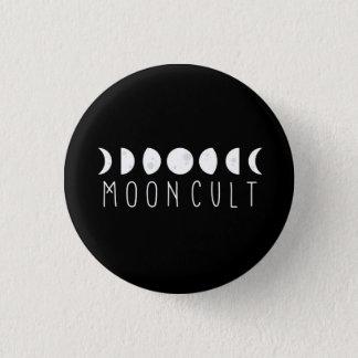 Bóton Redondo 2.54cm Pin pequeno da fase de MoonCult