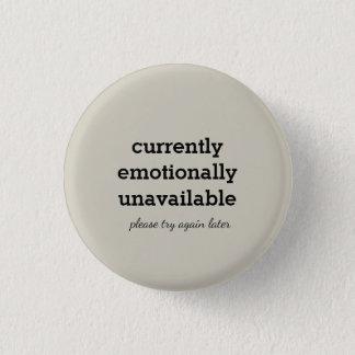 Bóton Redondo 2.54cm pino anti-social emocionalmente não disponível