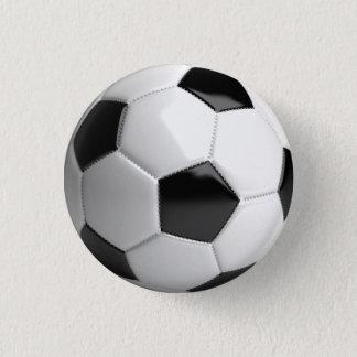 Bóton Redondo 2.54cm Pino da bola de futebol (futebol)/botão - fã de