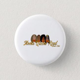 Bóton Redondo 2.54cm Pino do botão lido do Queens do Mocha