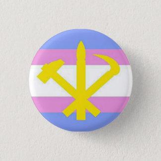 Bóton Redondo 2.54cm pino do juche do transgender