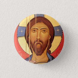 Bóton Redondo 2.54cm Pintura de Jesus