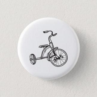 Bóton Redondo 2.54cm pouco botão do trike