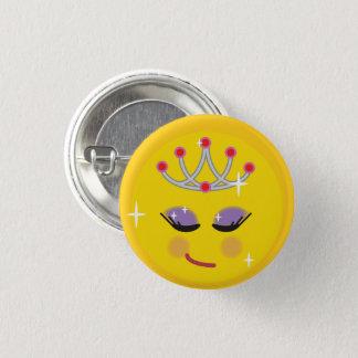 Bóton Redondo 2.54cm Princesa bonito Emoji
