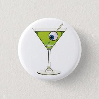 Bóton Redondo 2.54cm Psychobilly Martini