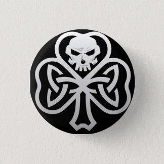Bóton Redondo 2.54cm Punk irlandês 1 1/4 de Pin do botão