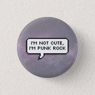 Bóton Redondo 2.54cm Punk rock