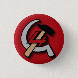 Bóton Redondo 2.54cm Quarto botão internacional