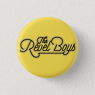 Bóton Redondo 2.54cm Revel meninos - apenas outros botão do logotipo da