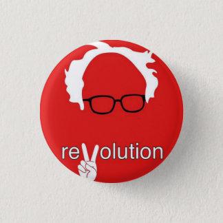 Bóton Redondo 2.54cm Revolução 2016 das máquinas de lixar de Bernie