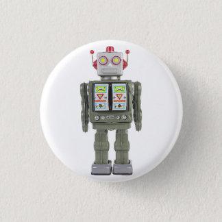 Bóton Redondo 2.54cm Robô do brinquedo