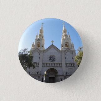 Bóton Redondo 2.54cm Santos Peter & botão de Pinback da igreja de Paul