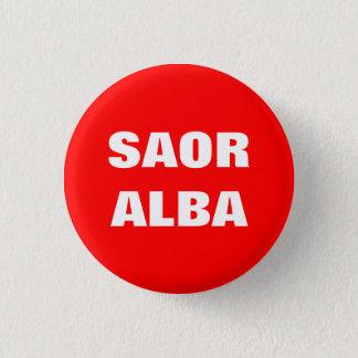 Bóton Redondo 2.54cm Saor Scotland livre gaélico alba Pinback