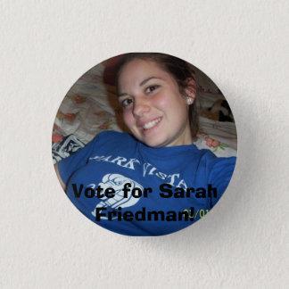 Bóton Redondo 2.54cm Sarah Friedman, voto para Sarah Friedman!