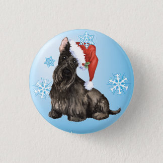 Bóton Redondo 2.54cm Scottish feliz Terrier de Howlidays