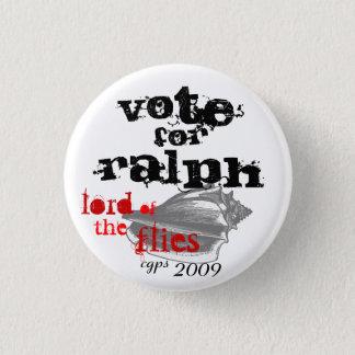 Bóton Redondo 2.54cm Senhor do botão de Ralph das moscas
