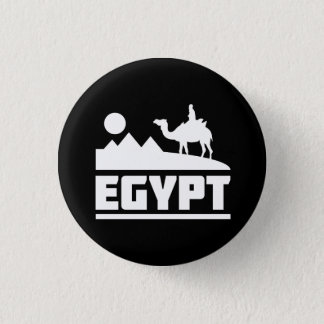 Bóton Redondo 2.54cm Silhueta do camelo de Egipto