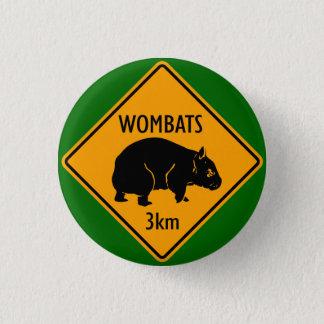 Bóton Redondo 2.54cm Sinal de Wombat