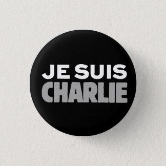 Bóton Redondo 2.54cm Slogan Charlie-Universal de Je Suis Charlie-Eu am