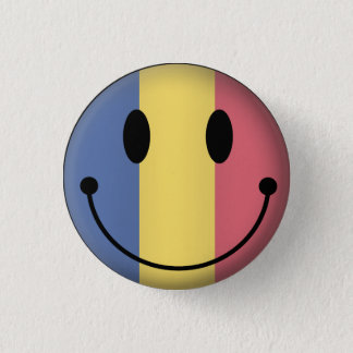 Bóton Redondo 2.54cm Smiley de Romania