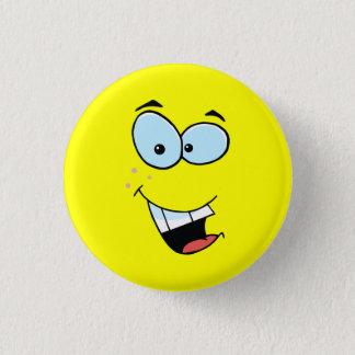 Bóton Redondo 2.54cm Smiley face de riso