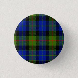 Bóton Redondo 2.54cm Tartan do Scottish de Gunn