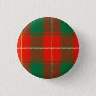 Bóton Redondo 2.54cm Tartan do Scottish de Macphee
