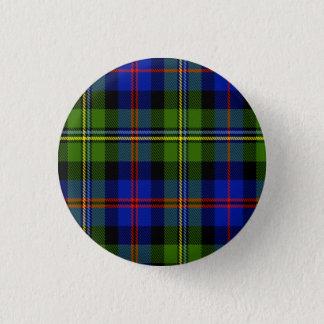 Bóton Redondo 2.54cm Tartan do Scottish de Malcolm